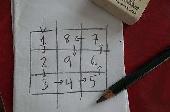 Nine Square