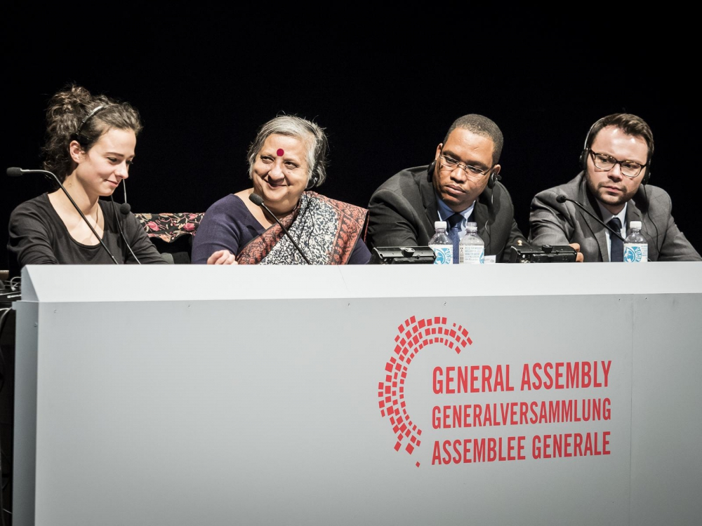 General Assembly: 4. Plenarsitzung – Cultural Global Commons