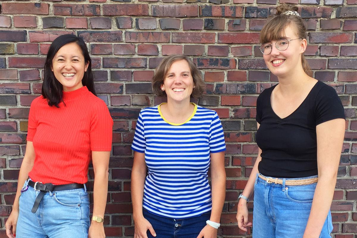 Mai-An Nguyen, Wiebke Nonne, Katharina Mrowka