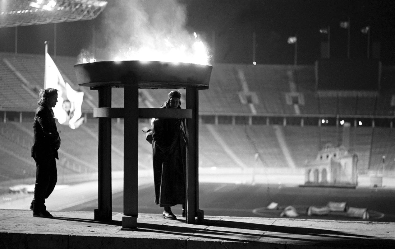 Winterreise im Olympiastadion